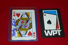 FREDDY DEEB poker star signed WPT card