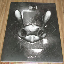 B.A.P BAP RECORDING TAKE 4 TAKE4 K-POP PHOTO BOOK PHOTOBOOK + DVD + PHOTOCARD