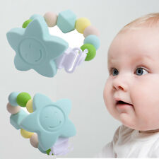 Teething Beads Soother Chain BPA-Free Baby Pacifier Clip Teether Toy Healthy