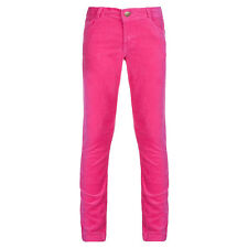 Girls Skinny Cord Trousers, Red, Pink & Mulberry Trousers, Girls Clothing 3150