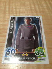 STAR WARS Force Awakens - Force Attax Trading Card #043 Admiral Piett