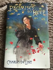 Promises to Keep by Charles de Lint (2007, Hardcover) FINE OUT OF PRINT