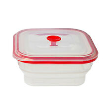 Creo Collapsible Food Storage Container Freezer, Microwave & Oven Safe, 1000ml