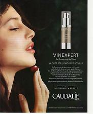 ▬► PUBLICITE ADVERTISING AD CAUDALIE Vinexpert crème sérum 2012