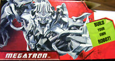 TRANSFORMERS MEGATRON WALL DECAL / POSTER BUILD A BOT SERIES HASBRO FLYPAPER