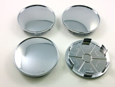 68mm BMW Wheel Centre Caps Central Hub cover universal blank chrome 4 pc.