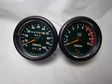 Yamaha RT3 360 enduro tachometer and speedometer face plate refurbished