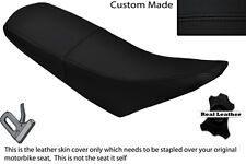 BLACK STITCH CUSTOM FITS PULSE ADRENALINE 125 DUAL LEATHER SEAT COVER