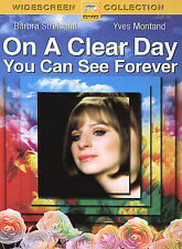 On a Clear Day You Can See Forever (DVD, 2005, Widescreen Collection)-NEW-GIFT!
