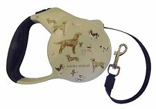 Laura Ashley Retractable Pet Leash Dog Leash 10ft Long up to 40lbs Dogs New