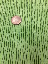 100% Cotton quilting craft Fabric Studio E Pumpkin Gang Lime Green Black Stripes