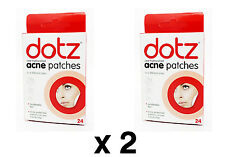 48 x DOTZ Acne Patches Patch in 3 Sizes Clear Strip Spots Face Skin Protection