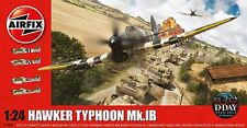 AIRFIX 1/24 SCALE PLASTIC MODEL KIT HAWKER TYPHOON MK1B AI19002