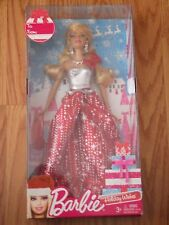 """BARBIE  2013 Holiday Wishes Christmas 11"""" Fashion Doll new in unopened box GIFT"""