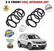 FOR VW TIGUAN + 4MOTION 1.4 2.0 TDI TSI TFSI 2007--  2X FRONT COIL SPRINGS SET