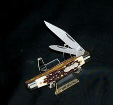 schrade-833uh-knife-uncle-henry-3516-closed-1990039s-staglon-handles-nos-usa