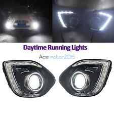 2x DRL LED Daytime Running Light Fog Lamp for Mitsubishi Outlander Sport ASX 13+