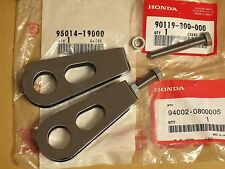Honda NOS Chain Adjuster Set CB750 CB550 CB500 VF750F 95014-19000 90119-300-000
