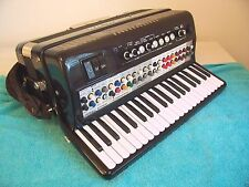 Cordovox 120 bass Accordion W/mic Excelsior made accordian Double Tone Chamber ?