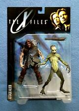 ATTACK ALIEN AND CAVEMAN THE X-FILES 6 INCH FIGURE SERIES 1 MCFARLANE 1998