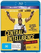 Central Intelligence (Blu-ray, 2016) NEW