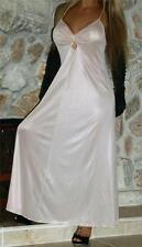 M SWEEPING VINTAGE POLYESTER LUCIE ANN LINGERIE NIGHTGOWN GOWN NEGLIGEE