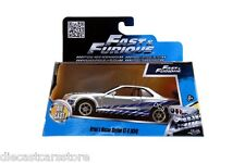 JADA BRIAN'S NISSAN SKYLINE GT-R (R34) FAST & FURIOUS MOVIE 1/32 DIECAST 97184