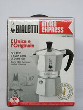 Bialetti Moka Express 06857 Stovetop Espresso Maker Pot Coffee Latte 1 CUP