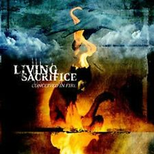 LIVING SACRIFICE Conceived In Fire CD 2002 Solid State Records Demon Hunter