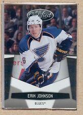 Erik Johnson 127 2010-11 Certified