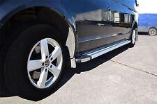 2004 - 2015 VW Transporter T5 Caravelle SWB Aluminium Side Running Boards Steps