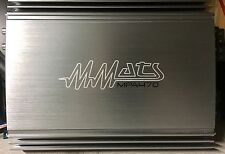 New Old School MMATS MPA-470 4 Channel Amplifier,Rare,NIB,NOS