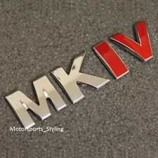MKIV Rear Boot Trunk Tailgate Emblem Badge Decal Sticker MK4 Mark 4 Logo VW *