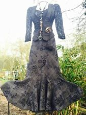 QUIRKY Victorian Gothic Steampunk HITCH Per Una Full SKIRT Pagan Pirate Wench 12
