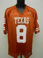 NEW Texas Longhorns #8 Mens Size 2XL 2XLARGE NIKE Football Jersey