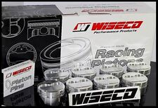 SBC CHEVY 350 WISECO FORGED PISTONS & RINGS 4.00 +4cc DOME USE 5.7 ROD KP420AS