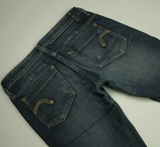 RRP $329- Womens G-Star Raw Stretch 'REESE STRAIGHT WMN' Indigo Jeans Size 28