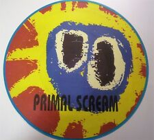 "Primal Scream ""Movin' On Up"" LP Picture disc Cosmic Communications ‎LV110 ITALY"