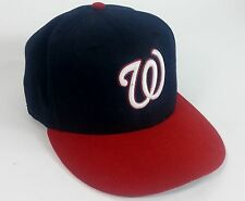 "New Era 59Fifty Washington Nationals MLB Baseball Cap Fitted Size 7-7/8"" 62.5 cm"