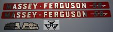 Massey-Ferguson MF 50 MF50 Tractor Basic Decal Set