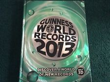 GUINNESS WORLD RECORDS RECORD 2013 BOOK