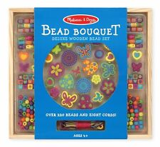 MELISSA AND DOUG BEAD BOUQUET WOODEN TOY, BEAD SET, BRAND NEW