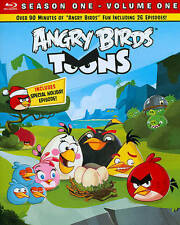 Angry Birds Toons Season One Volume One (Blu-ray/New/Slipcover/Free Shipping)