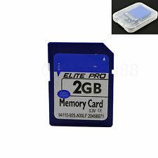 2GB SD Card Secure Digital Memory Card For Nikon Canon Camera Samsung PC Laptop