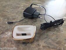 Original Nokia 8800 Tischladestation Ladestation GOLD Ladegerät DT-16 wie NEU