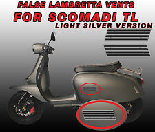 False GP vent Decals / Stickers for Scomadi TL125 Light version