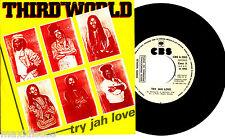 """7"""" - Third World - Try Jah Love (REGGAE) SPANISH """"PROMO"""" EDIT. 1982 - NEAR MINT"""