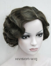 7 colors Short Finger Wave Women Ladies Daily Hair wig Hivision #E-47