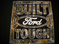 New Ford Realtree Camo Truck Built Ford Tough Logo T-Shirt Mens Large