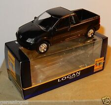 ELIGOR id NOREV 3 INCHES 1/54 RENAULT DACIA LOGAN PICK UP 2008 NOIRE IN BOX